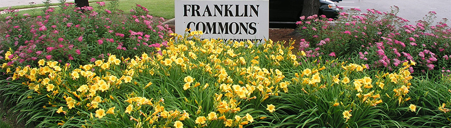 """Franklin Commons Entrance"""